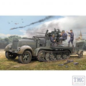 PKTM01523 Trumpeter 1:35 Scale SdKfz 7/1 SP 2cm FlaK38 (Early)