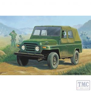 PKTM02302 Trumpeter 1:35 Scale BJ212 Chinese Military Jeep