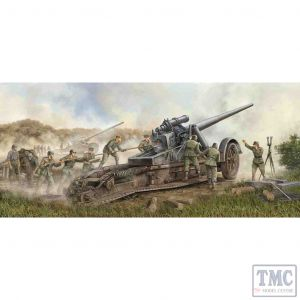 PKTM02313 Trumpeter 1:35 Scale 17cm Kanone 18 Heavy Gun