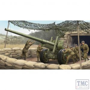 PKTM02316 Trumpeter 1:35 Scale A-19 Mod 1931 122mm Cannon