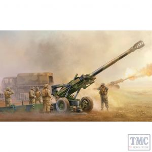 PKTM02319 Trumpeter 1:35 Scale M198 Medium Towed Howitzer Late