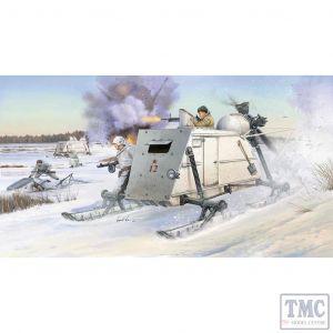PKTM02321 Trumpeter 1:35 Scale Aerosan NKL-26 Soviet Armoured Aerosled