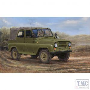 PKTM02327 Trumpeter 1:35 Scale UAZ-469 Soviet All-Terrain Vehicle
