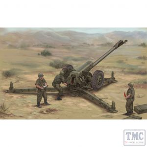 PKTM02329 Trumpeter 1:35 Scale D-30 122mm Soviet Howitzer Late