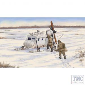 PKTM02337 Trumpeter 1:35 Scale Aerosan NKL-16 Soviet Armoured Aerosled
