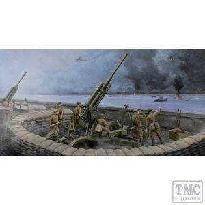 PKTM02342 Trumpeter 1:35 Scale 52-K 85mm Soviet Air Defence Gun M1943 Late