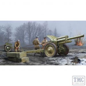 PKTM02343 Trumpeter 1:35 Scale M-30 122mm Soviet Howitzer Mod 1938 Early