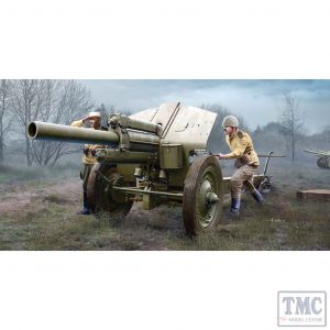 PKTM02344 Trumpeter 1:35 Scale M-30 122mm Soviet Howitzer Mod 1938 Late