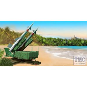 PKTM02353 Trumpeter 1:35 Scale Soviet 5P71 Launcher w/ 5V27 Missile Pechora (SA-3B Goa) Rounds Loaded