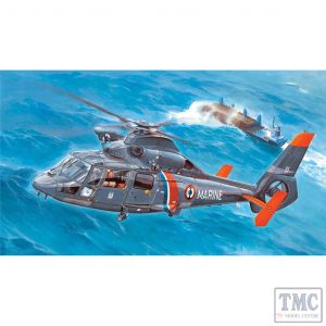 PKTM05106 Trumpeter 1:35 Scale AS365 N2 Dauphin 2 Helicopter