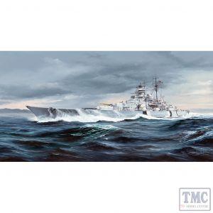 PKTM05358 Trumpeter 1:350 Scale German Bismarck Battleship