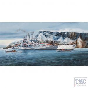 PKTM05359 Trumpeter 1:350 Scale German Tirpitz Battleship