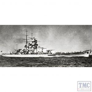 PKTM05360 Trumpeter 1:350 Scale DKM Gneisenau Battle Cruiser
