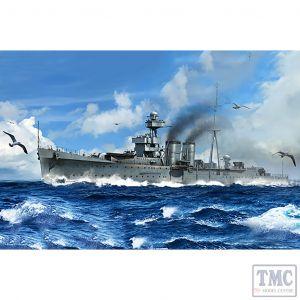 PKTM05362 Trumpeter 1:350 Scale HMS Calcutta C-class Light Cruiser