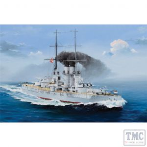 PKTM05365 Trumpeter 1:350 Scale SMS Szent István Austro-Hungarian Tegetthoff-class Dreadnought