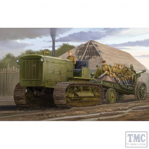 PKTM05538 Trumpeter 1:35 Scale Chelyabinsk ChTZ S-65 Russian Tracked Tractor