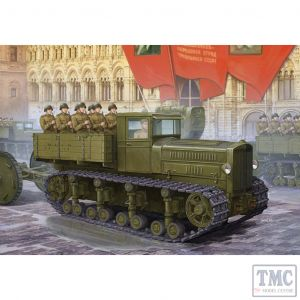 PKTM05540 Trumpeter 1:35 Scale Komintern Russian Heavy Tractor