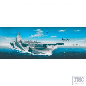 PKTM05609 Trumpeter 1:350 Scale USS Ticonderoga CV-14 Aircraft Carrier