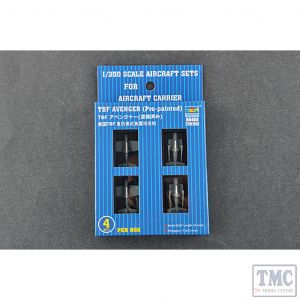 PKTM06408 Trumpeter 1:350 Scale TBF Avenger (qty 4 pre-painted)