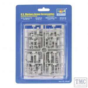 PKTM06640 Trumpeter 1:350 Scale US Marines Armour Accessories (8 types, 2 ea)