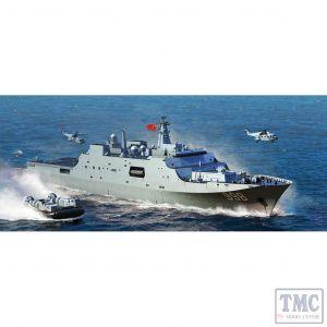 PKTM06726 Trumpeter 1:700 Scale PLA Navy Type 071 Amphibious Transport Dock