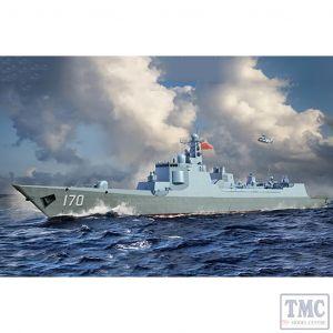 PKTM06730 Trumpeter 1:700 Scale PLA Navy Type 052C Destroyer
