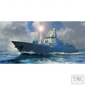 PKTM06732 Trumpeter 1:700 Scale PLA Navy Type 052D Destroyer