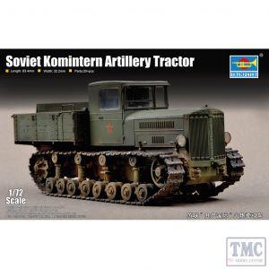 PKTM07120 Trumpeter 1:72 Scale Soviet Komintern Artillery Tractor