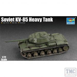 PKTM07127 Trumpeter 1:72 Scale Soviet KV-85 Heavy Tank