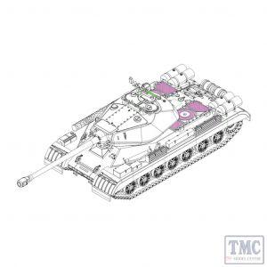 PKTM07143 Trumpeter 1:72 Scale Soviet JS-4 Heavy Tank