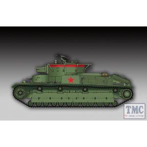 PKTM07150 Trumpeter 1:72 Scale Soviet T-28 Medium Tank (Welded)