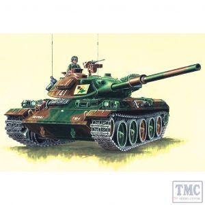 PKTM07218 Trumpeter 1:72 Scale Type 74 JapaneseTank