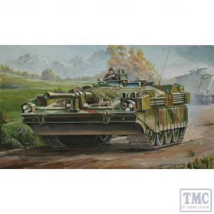 PKTM07220 Trumpeter 1:72 Scale Strv 103C Swedish Main Battle Tank