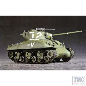PKTM07222 Trumpeter 1:72 Scale M4A1(76)W Sherman Tank