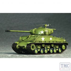 PKTM07225 Trumpeter 1:72 Scale M4A3E8 Tank (T66 Track)