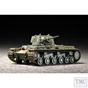 PKTM07233 Trumpeter 1:72 Scale KV-1 Mod 1942 Lightweight Cast Turret Tank