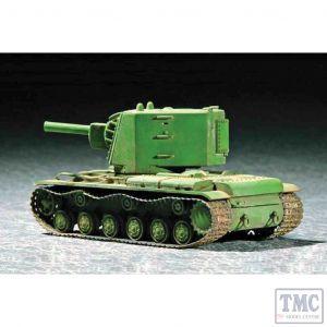 PKTM07236 Trumpeter 1:72 Scale KV-2 Big Turret Soviet Tank