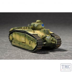 PKTM07263 Trumpeter 1:72 Scale Char B1 French Heavy Tank
