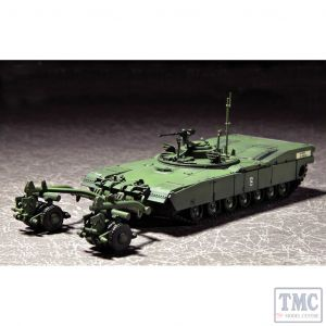 PKTM07280 Trumpeter 1:72 Scale M1 Panther II Mine Clearing Tank