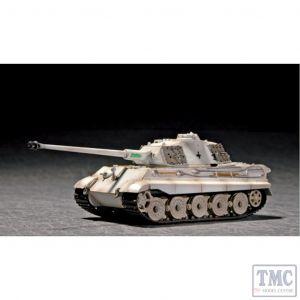 PKTM07292 Trumpeter 1:72 Scale King Tiger Porsche Turret w/Zimmerit