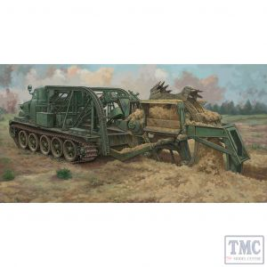 PKTM09502 Trumpeter 1:35 Scale BTM-3 High-speed Trench Digging Vehicle