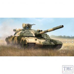 PKTM09592 Trumpeter 1:35 Scale Ukraine T-64BM Bulat Main Battle Tank