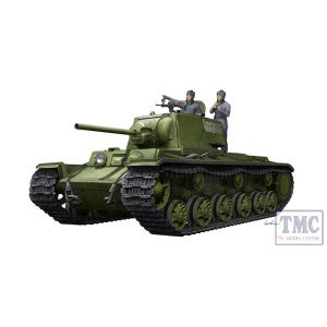 PKTM09597 Trumpeter 1:35 Scale KV-1 1942 Simplified Turret w/ Tank Crew