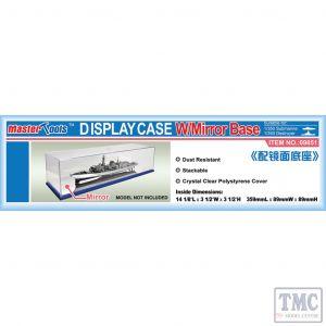 PKTM09851 Trumpeter  Display Case 359x89x89mm w/Mirror Base