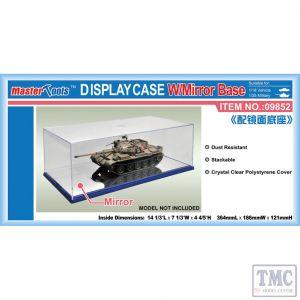PKTM09852 Trumpeter  Display Case 364x186x121mm w/Mirror Base