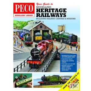 PM-210 Peco Publications Your Guide to Modelling Heritage Railways