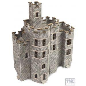 PN194 Metcalfe N Scale Castle Hall Card Kit