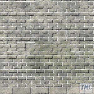 PN195 Metcalfe N Scale Castle Stonework Sheets