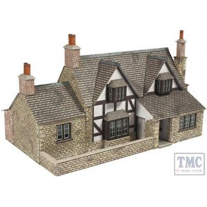 PO267 Metcalfe OO/HO Town End Cottage Card Kit