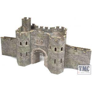 PO291 Metcalfe OO/HO Gauge Castle Gatehouse Card Kit